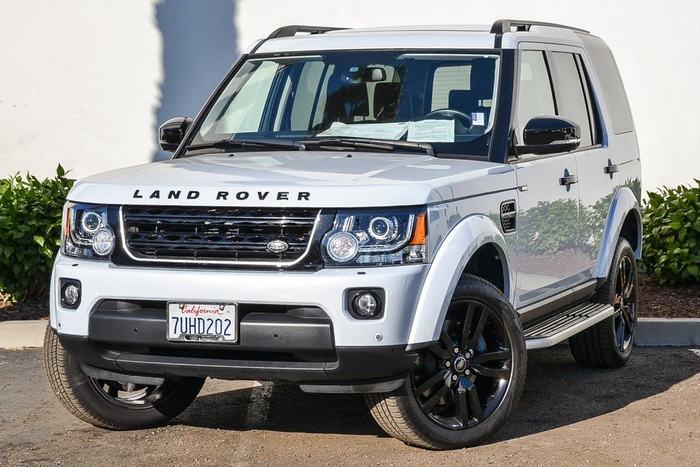 Certified Pre-Owned 2016 Land Rover LR4 SILVER EDITION