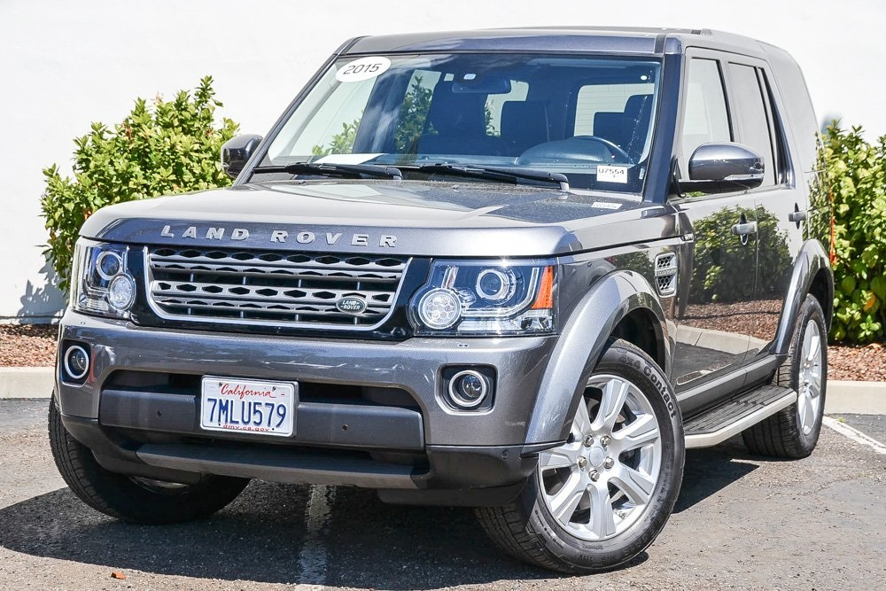 Certified Pre-Owned 2015 Land Rover LR4 Base