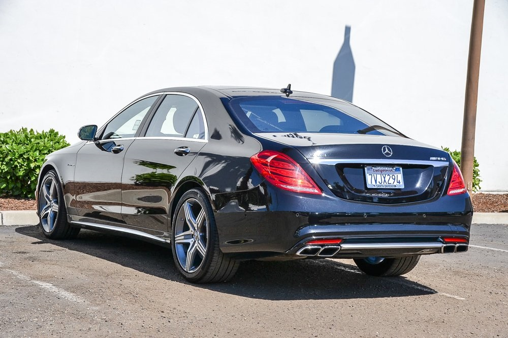 Certified Pre-Owned 2016 Mercedes-Benz S-Class S 63 AMG®