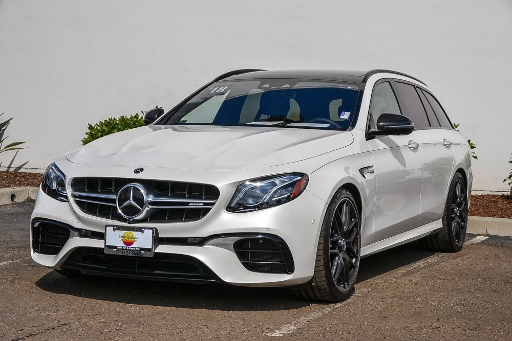 Certified Pre-Owned 2018 Mercedes-Benz E-Class E 63 S AMG®